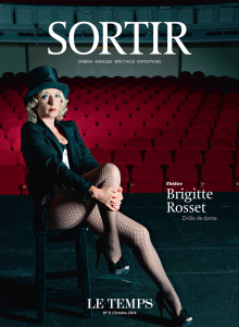 Le temps- Brigitte Rosset - Comédie de Genève