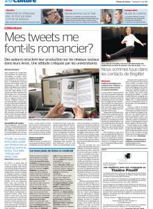Tribune de Genève - Tiguidou - Brigitte Rosset