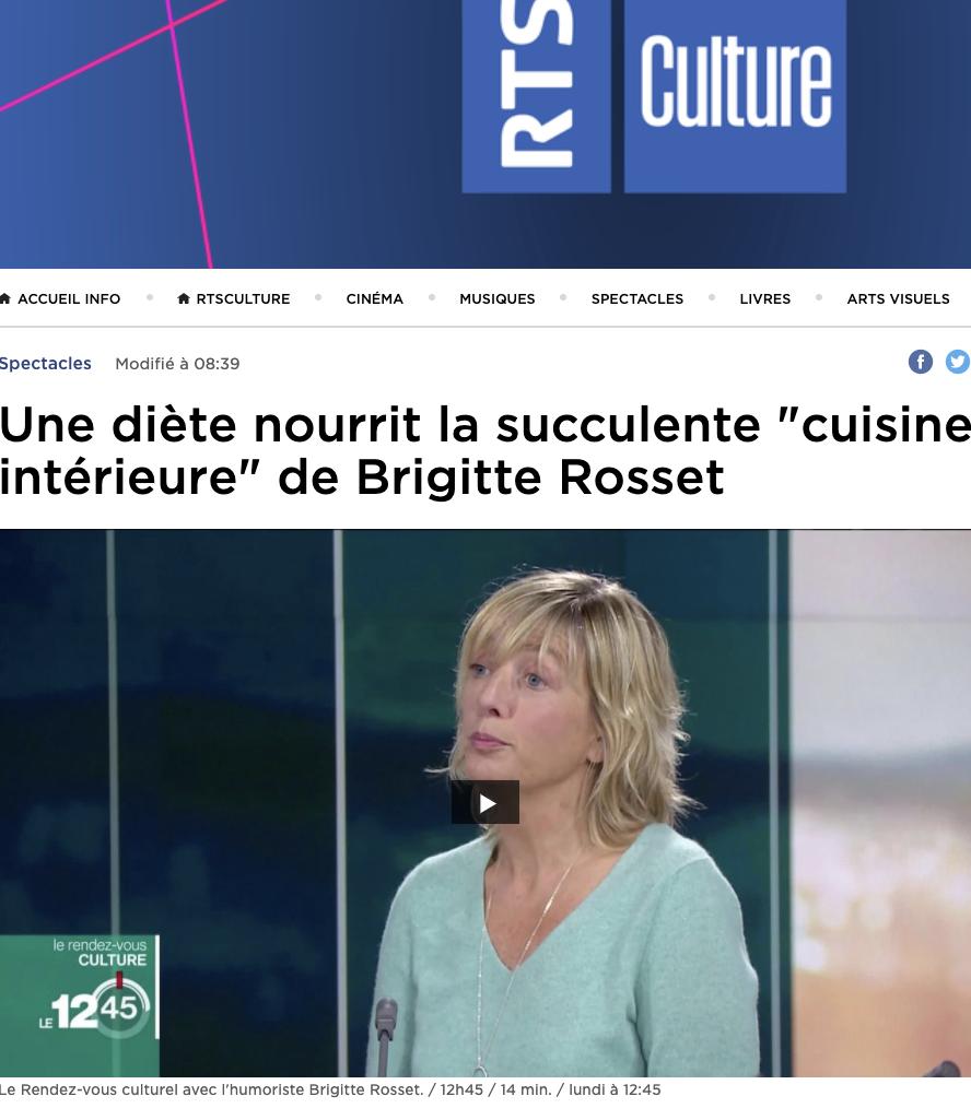 Brigitte Rosset 12:45 RTS